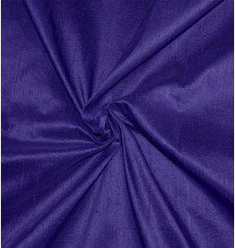 Dupion Silk D35 - bleu cobalt foncé / violet