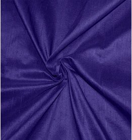 Dupion Silk D35 - dark cobalt blue / purple