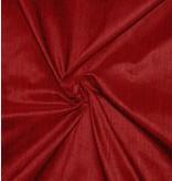 Dupionseide D36 - dunkel rot mit schwarz