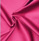 Uni S31 aus glänzender Baumwolle - leuchtend rosa
