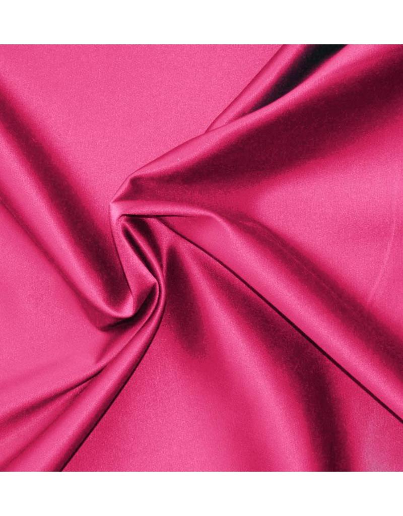Shiny Cotton Uni S31 - bright pink