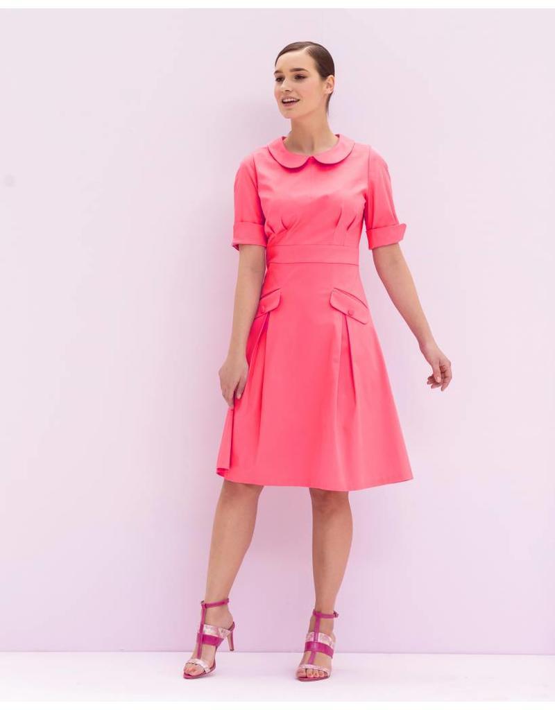 Cotton Satin Uni 0031 - bright pink