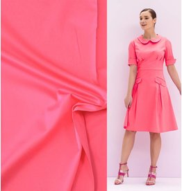 Cotton Satin Uni 0031 - bright pink