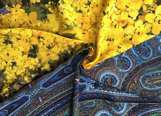 Silk Dessin Fabrics TST