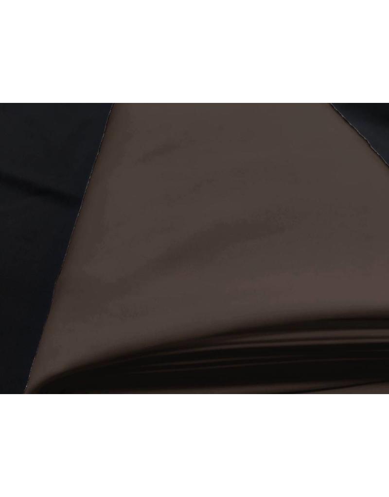 Cupro Uni TC08 - brun foncé