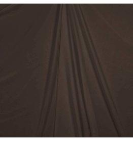 Cupro Satijn Uni TC08 - donkerbruin