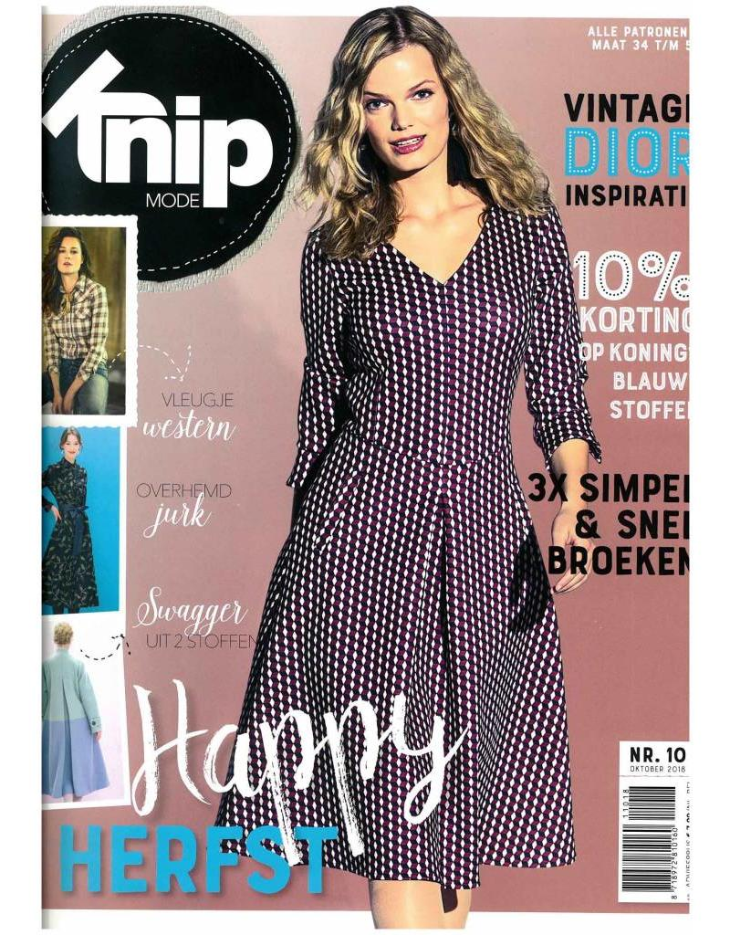 edb4f0122a9cef Knipmode Magazine 10-2018 - StoffenBestellen.nl