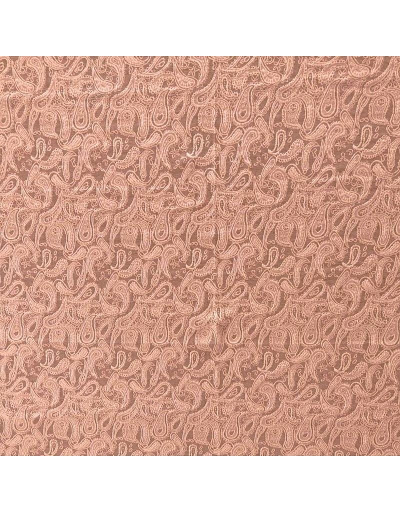 Paisley Jersey PA02 - altes rosa