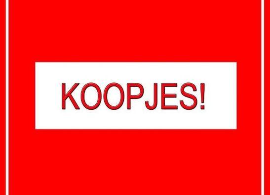 KOOPJES!