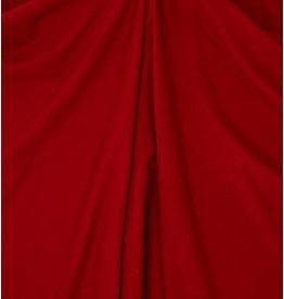 Gabardine Terlenka Stretch (zwaar)  WT76 - donker rood
