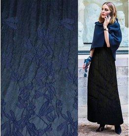 Jacquard 897 - bleu foncé / noir