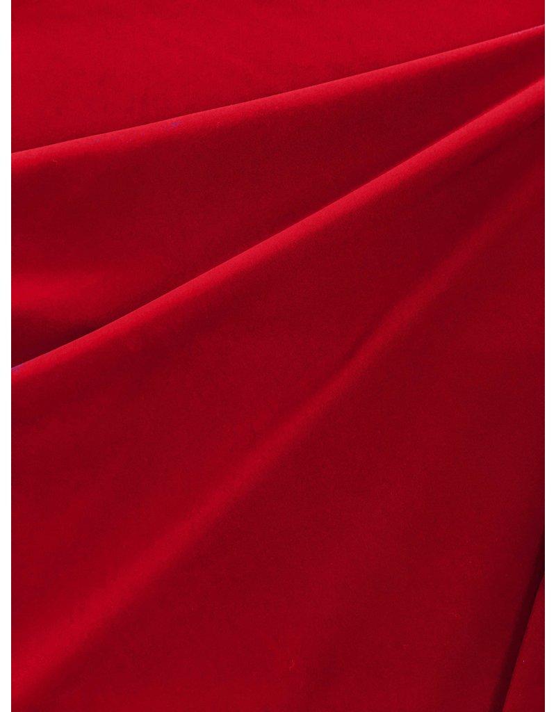 Italian Travel Stretch Jersey J24 - rouge
