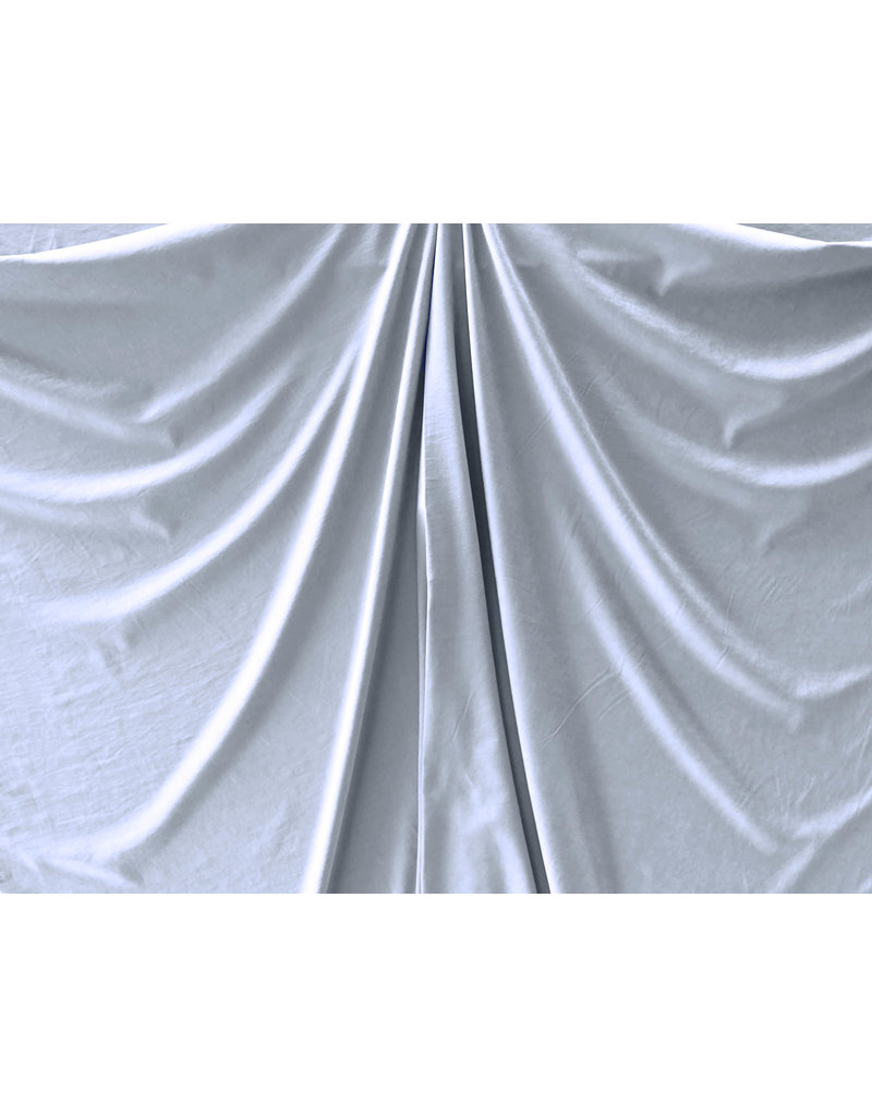 Stone Washed Cupro SW02 - jeansblauw