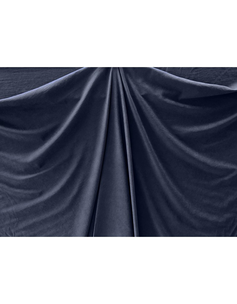 Stone Washed Cupro SW03 - bleu foncé