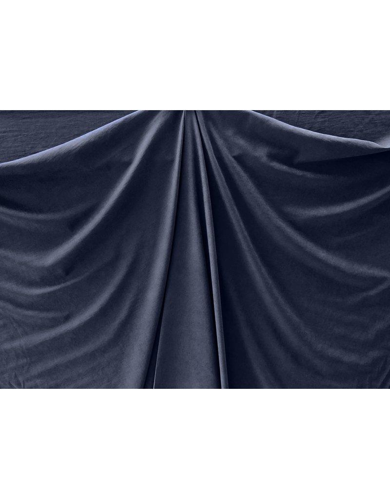 Stone Washed Cupro SW03 - dark blue