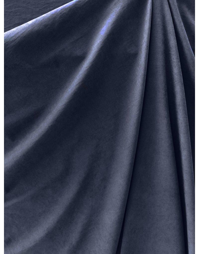 Stone Washed Cupro SW03 - dunkelblau