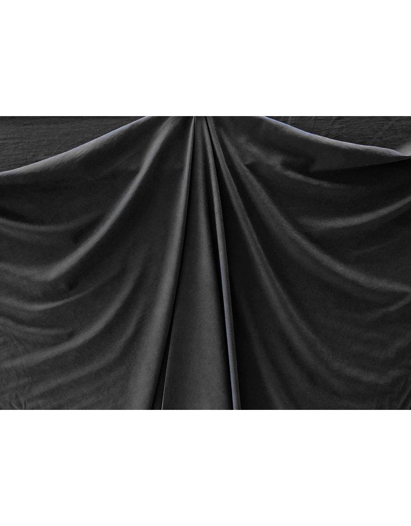 Stone Washed Cupro SW08 - schwarz