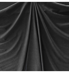 Stone Washed Cupro SW08 - zwart