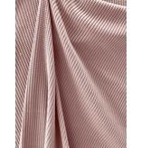 Gebreide Katoen W146 - oud roze