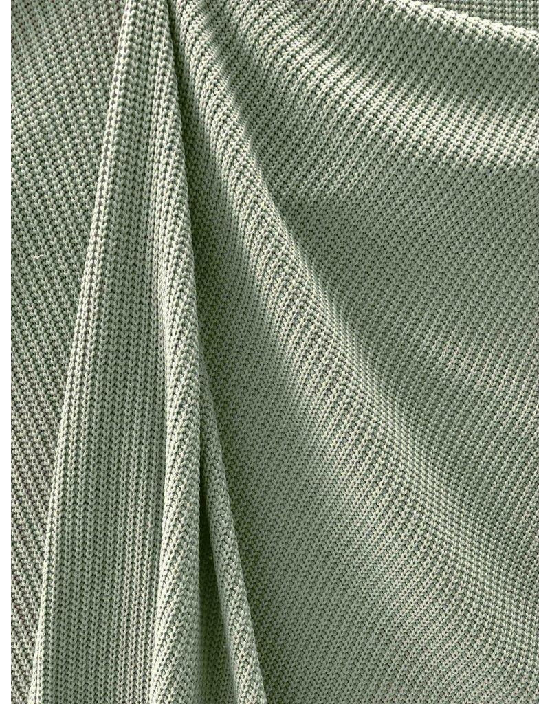 Gestrickte Baumwolle W147 - pudergrün