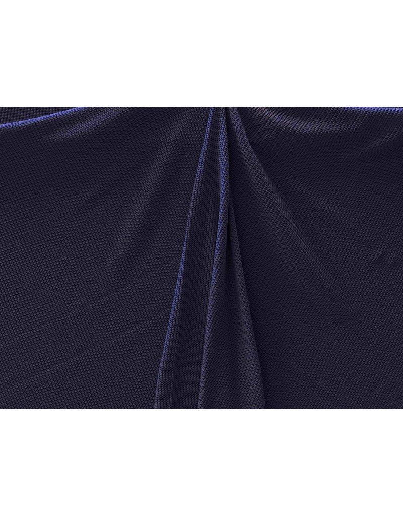 Gestrickte Baumwolle W149 - dunkelblau