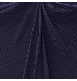 Gebreide Katoen W149 - donkerblauw - LAST
