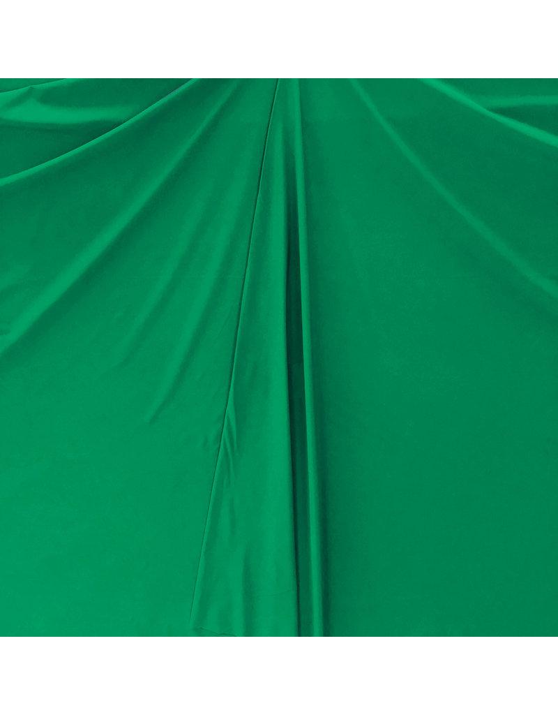 Italian Travel Stretch Jersey J27 - emerald green