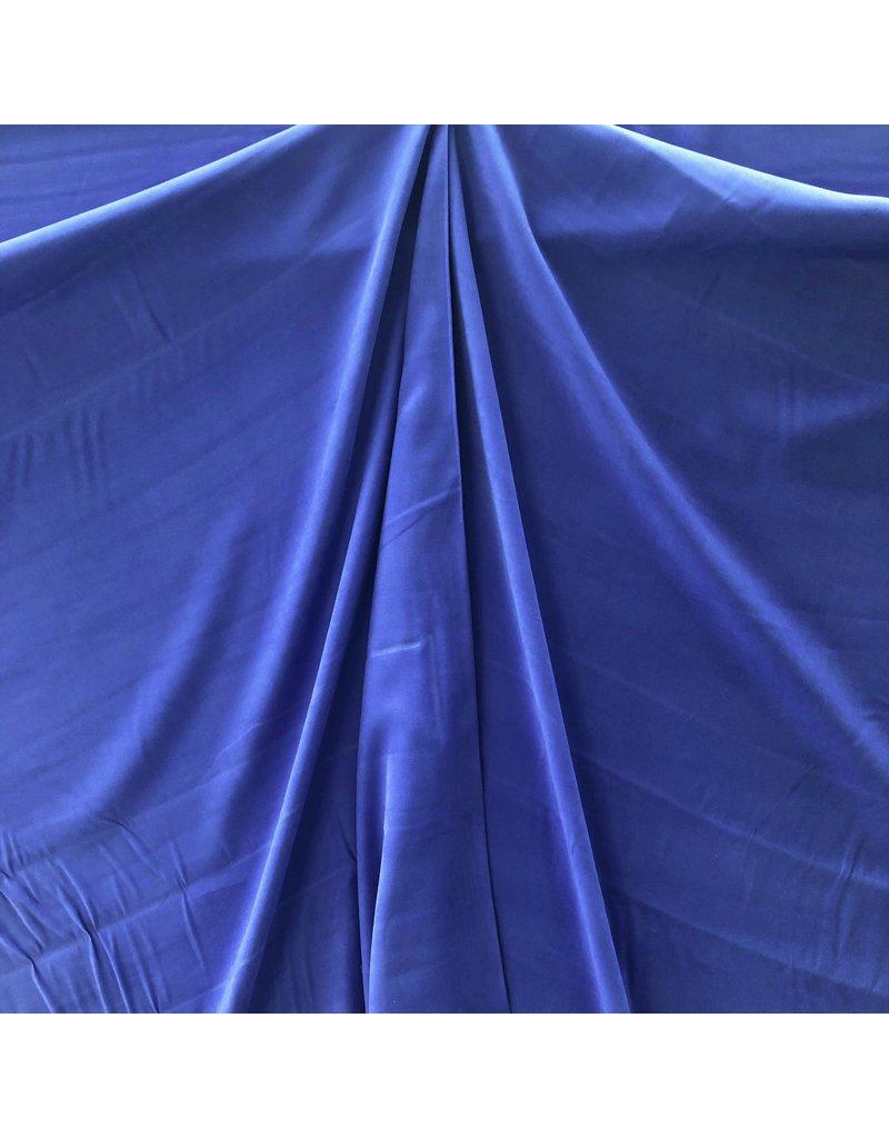Viscose Stone Washed SV01 - kobaltblauw