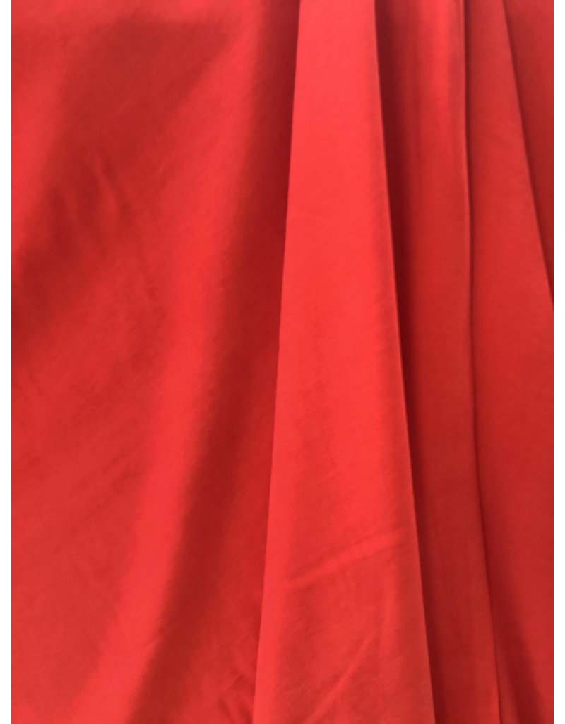 Viscose Stone Washed SV02 - rouge vif