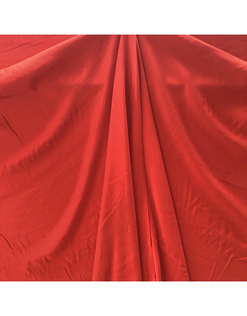 Viscose Gabardine Brushed SV02 - bright red