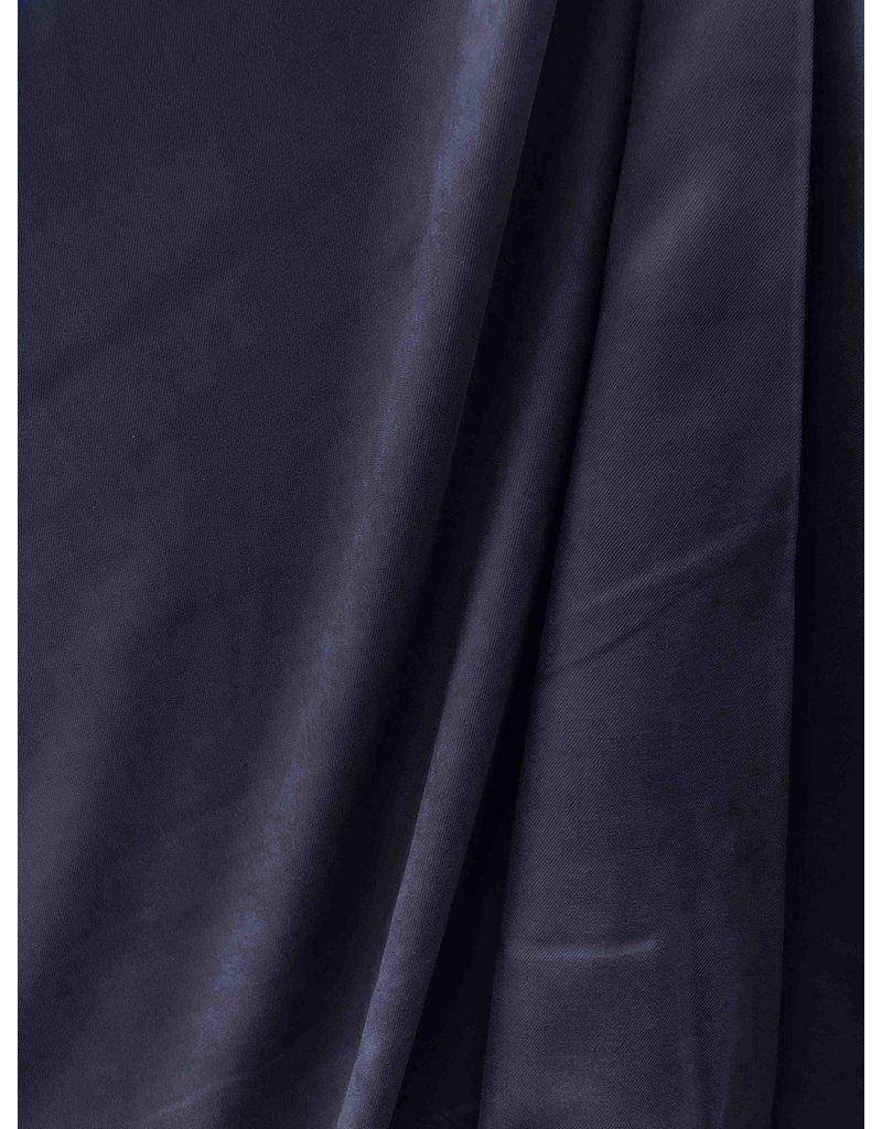 Gabardine en viscose brossé SV05 - bleu foncé