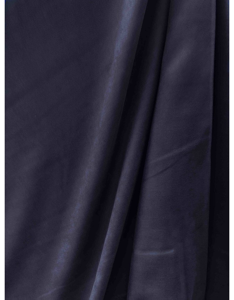 Viscose Stone Washed SV05 - donkerblauw