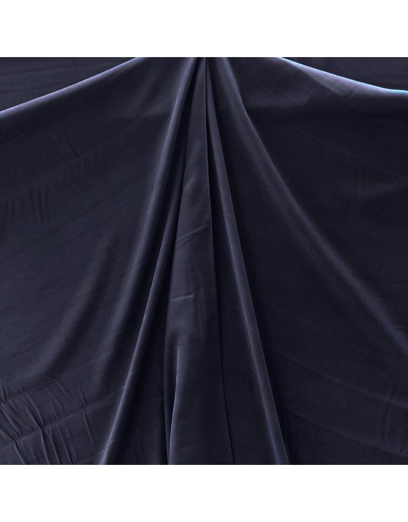 Viscose Gabardine Brushed SV05 - donkerblauw