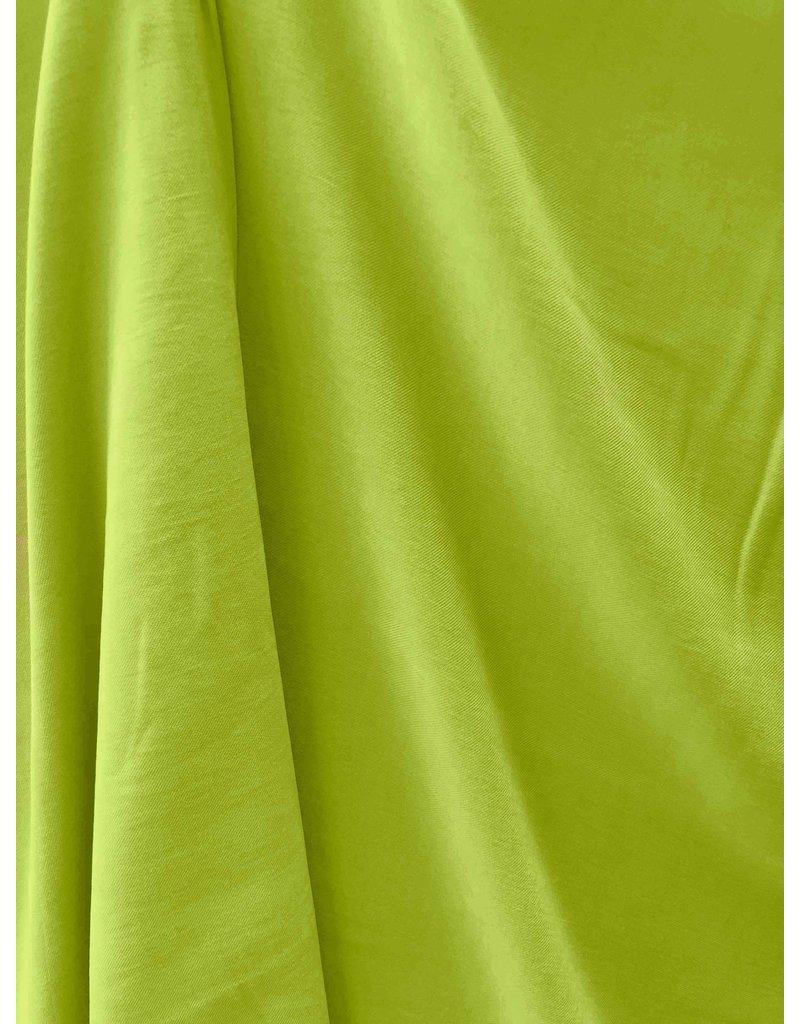 Viscose Stone Washed SV08  - vert citron
