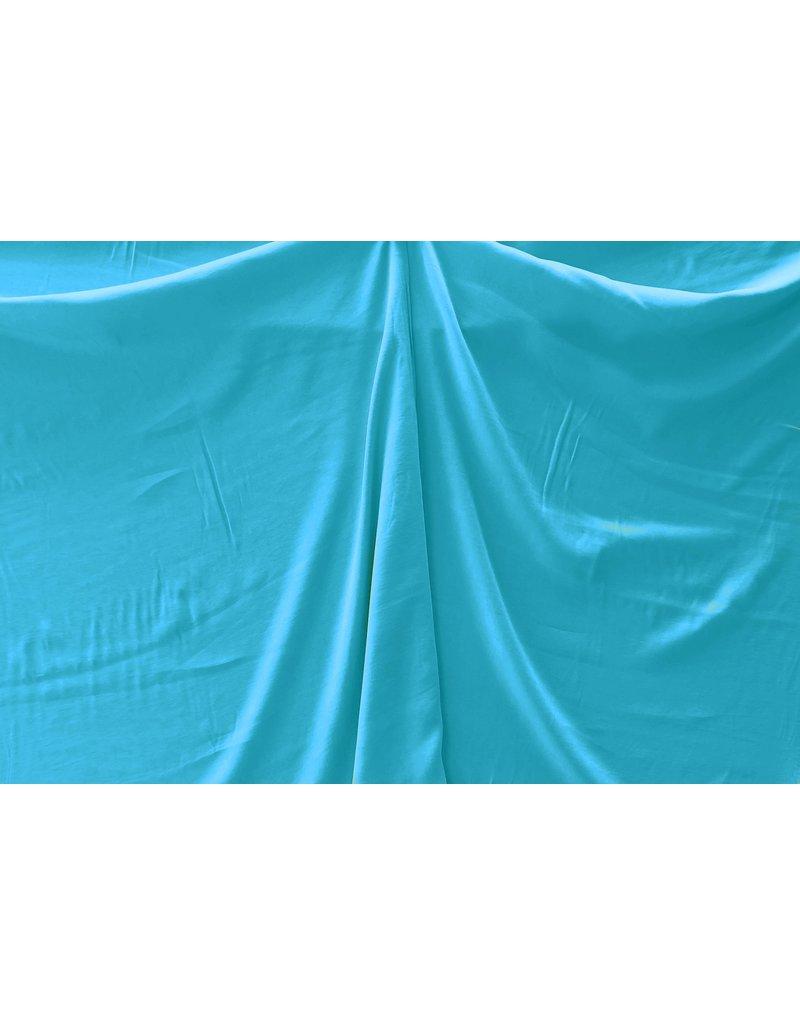 Viscose Gabardine Brushed SV09 - aqua blauw