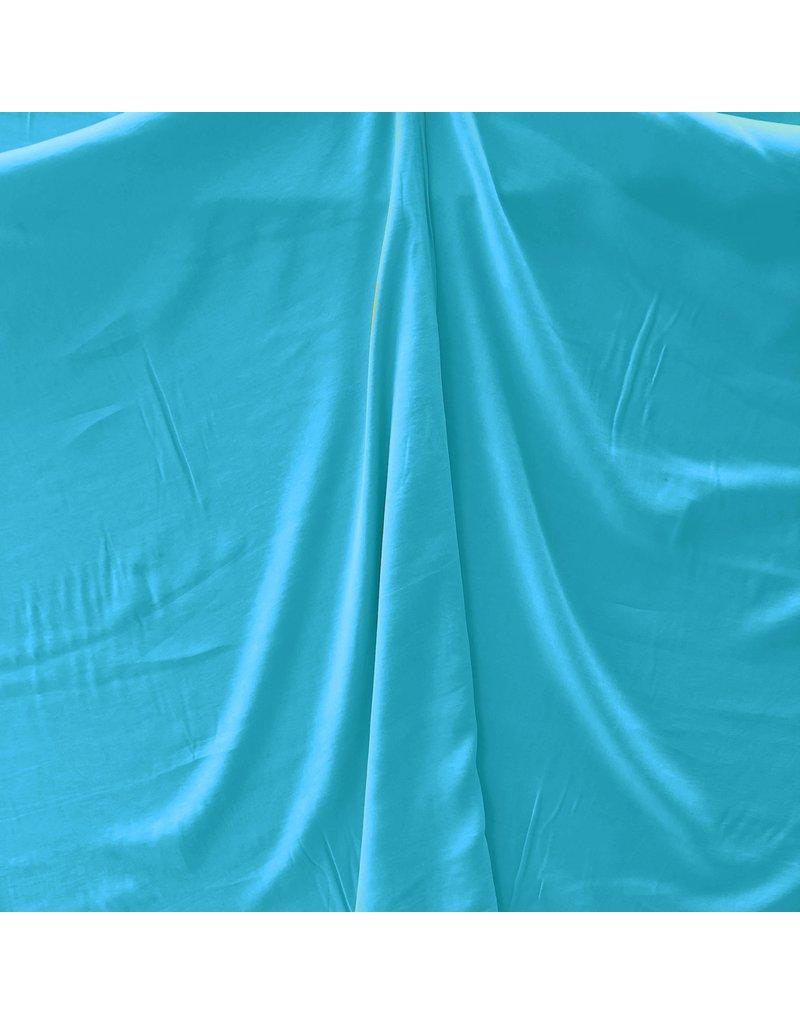 Gabardine Viscose Brossé SV09 - bleu aqua