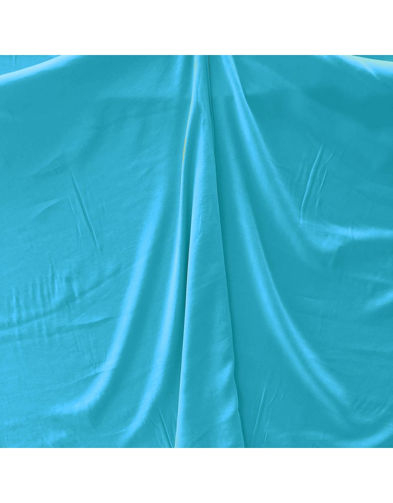Viscose Stone Washed SV09 - bleu aqua