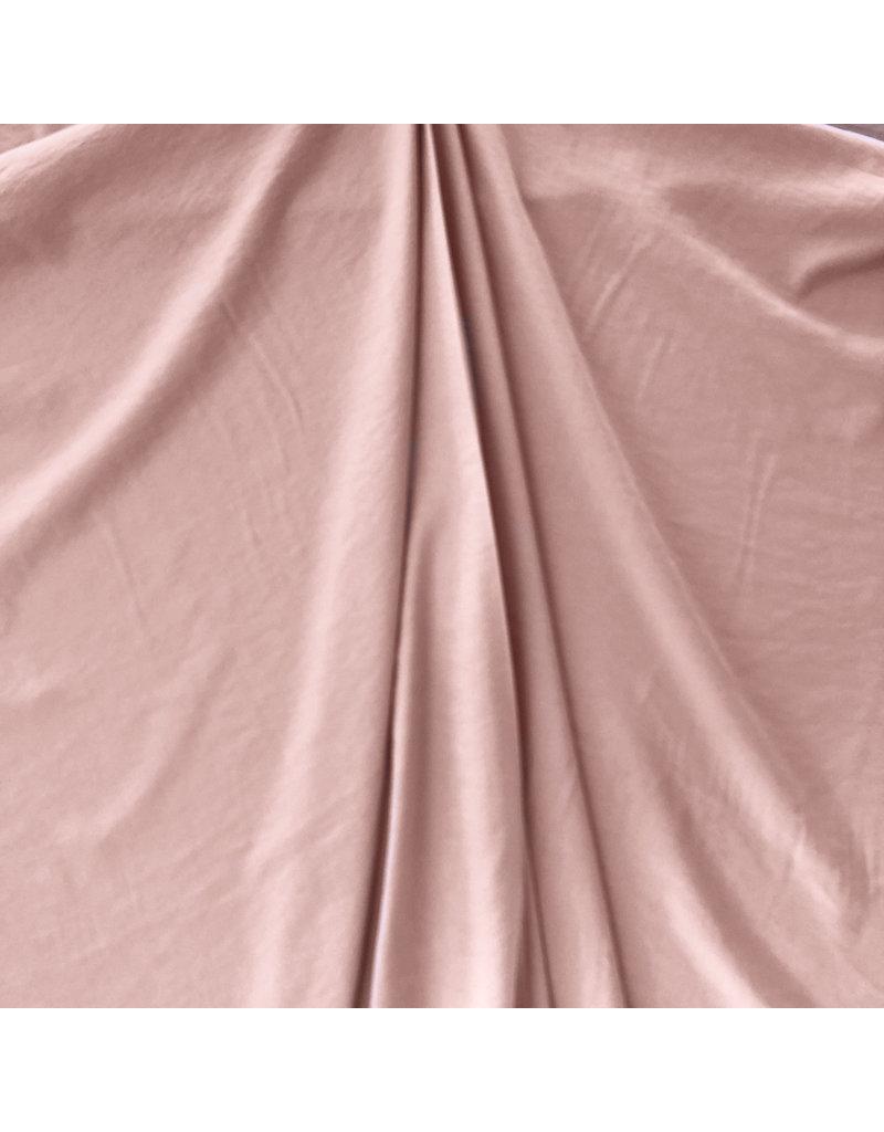 Viskose Gabardine Stone Washed GS01 - Altes Rosa