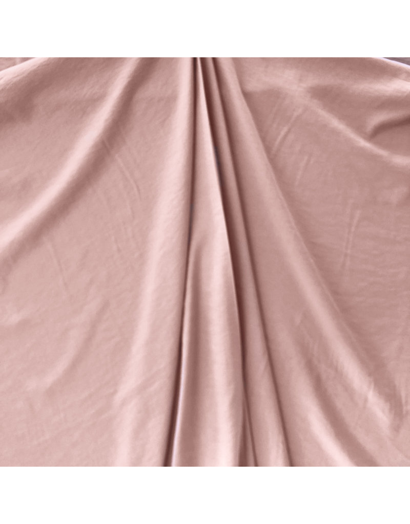 Viskose Stein gewaschen GS01 - altes Rosa