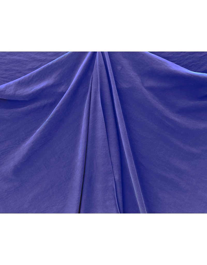 Viscose Stone Washed GS02 - cobalt blue