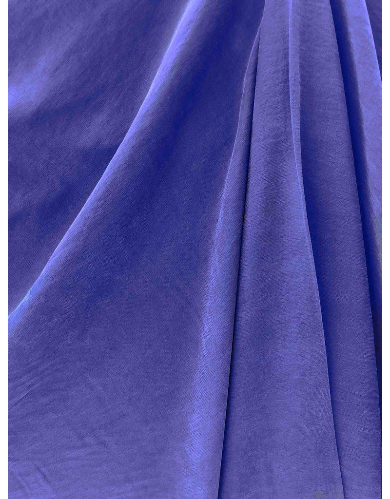 Viscose Gabardine Stone Washed GS02 - kobaltblauw