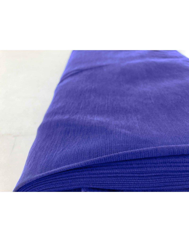 Viscose Gabardine Stone Washed GS02 - royal blue