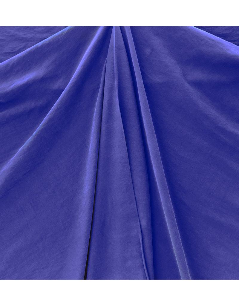 Viscose Gabardine Stone Washed GS02 - bleu royal