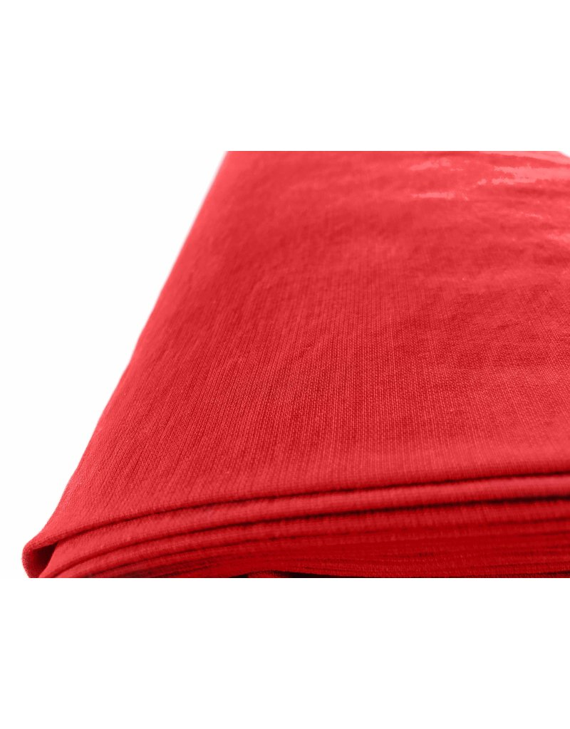 Viskose Stein gewaschen GS03 - rot