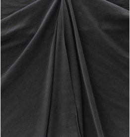 Viscose Gabardine Stone Washed GS04 - noir