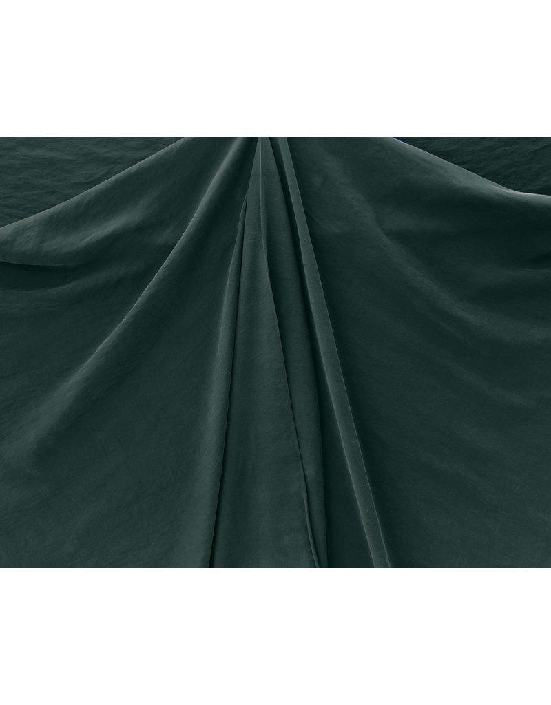 Viscose Gabardine Stone Washed GS08 - dark green