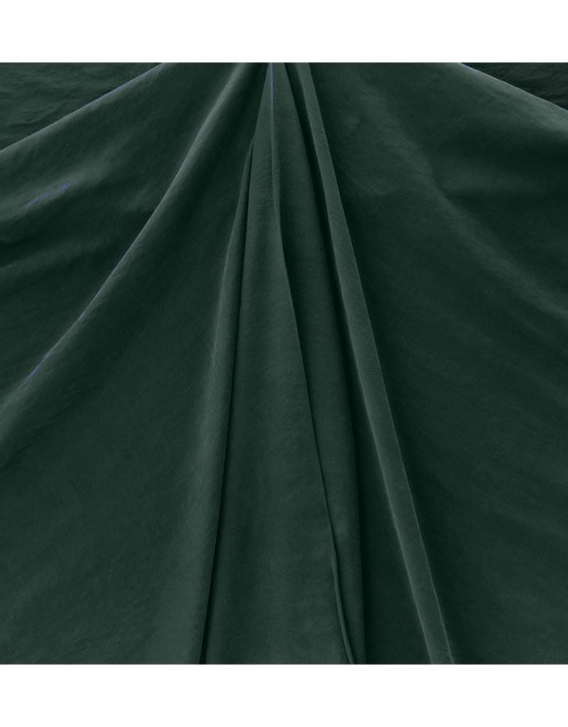Viskose Gabardine Stone Washed GS08 - dunkelgrün