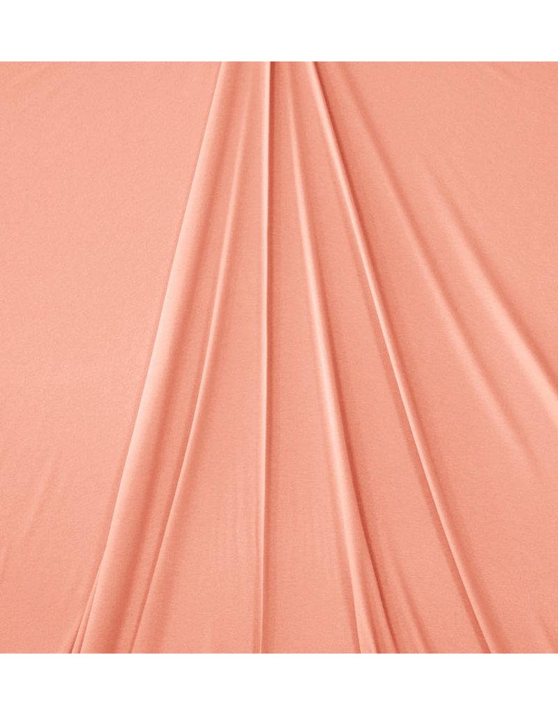 Premium Viscose Jersey PV08 - salmon pink