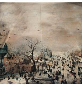 Gloss Cotton Inkjet 1726 - Paysage d'hiver avec divertissement de glace