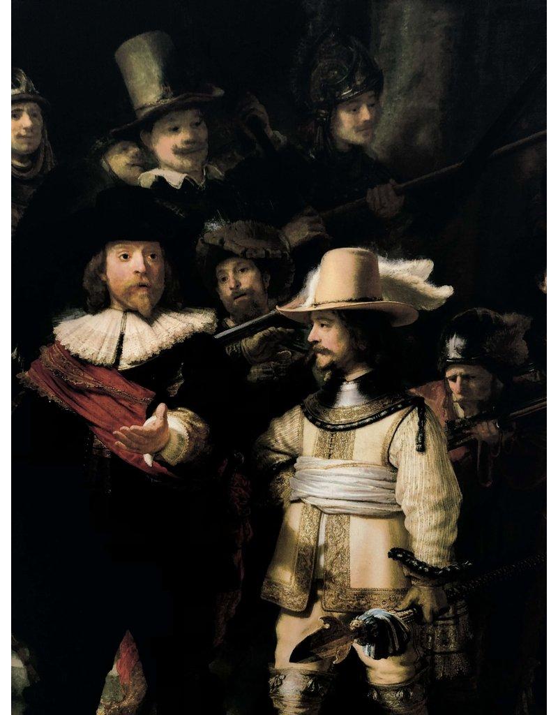 Jet d'encre de coton brillant 1727 - Rembrandt van Rijn / Nightwatch